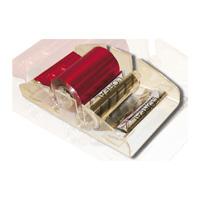 Диспенсер для двух рулонов из алюминия ДЛЯ СЕРИИ - QTM