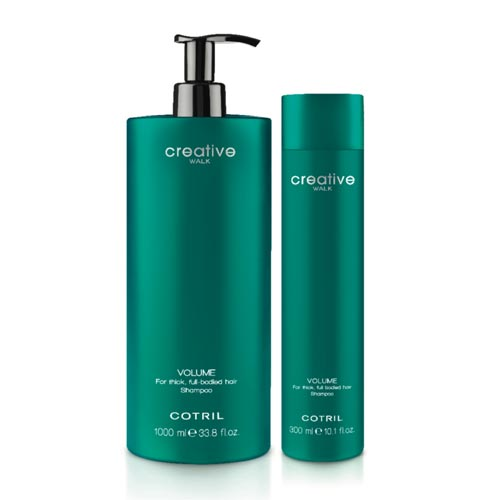 USTVARJALNI hoje zvezek: Za debele, poln okusa šampon za lase.